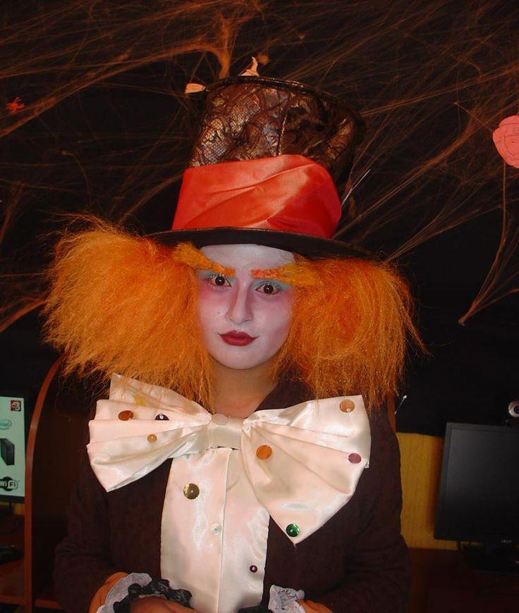 Disfraz Halloween 2013. Maquillaje y disfraz por Juliana Cubillos.