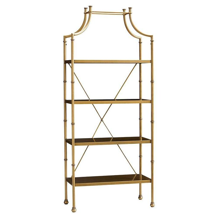 Maison Bookcase, Gold by PBteen