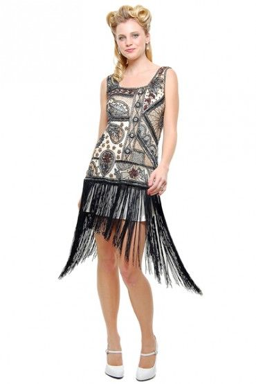 All fashion flapper dresses