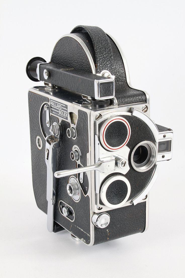 Paillard-Bolex 16mm Movie Camera