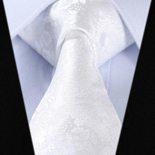 Hodvábna kravatová sada - kravata a vreckovka - vzor 28