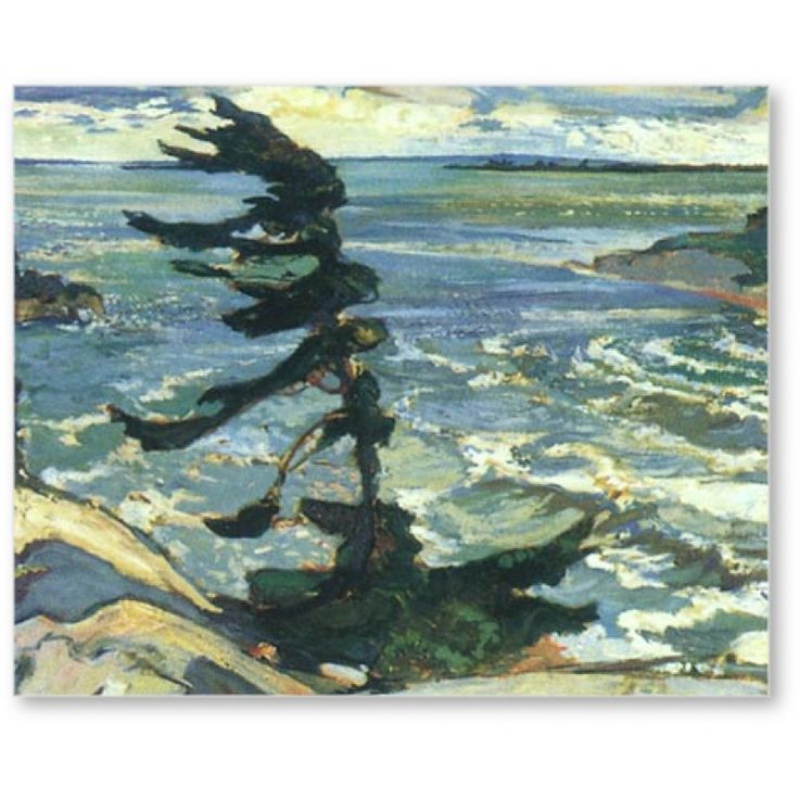 Stormy Weather Georgian Bay      Artist: Frederick Varley
