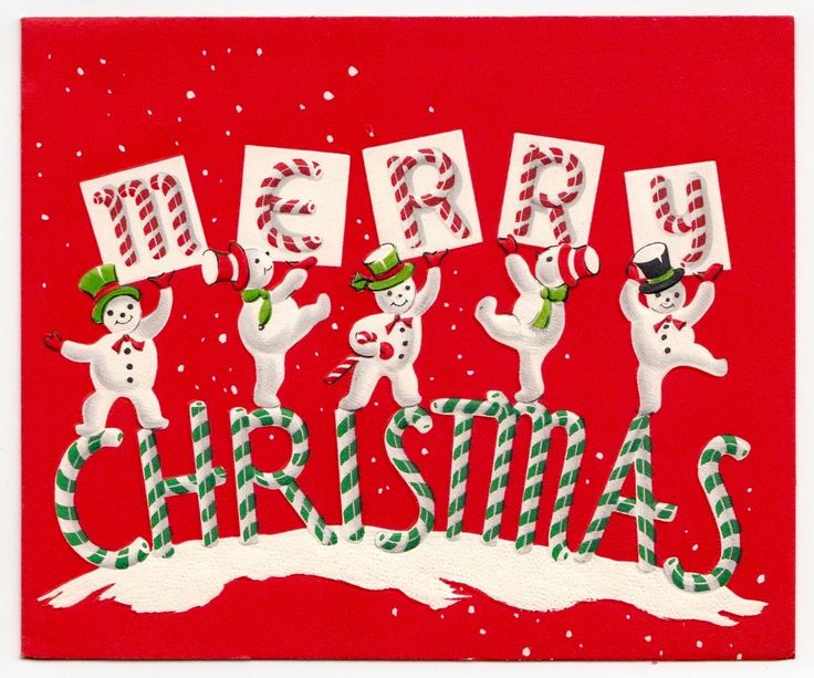 332 Best Christmas Cardssantas And Snowmen Images On Pinterest