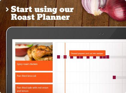 Roast Planner:  Love Sainsbury's!