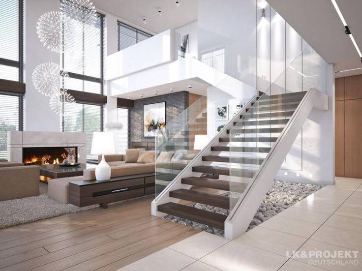 Salas de estar translation missing: pt.style.salas-de-estar.moderno por LK&Projekt GmbH