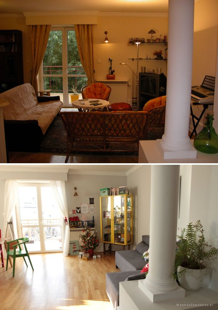 Wnętrza Zewnętrza: Metamorfoza naszego salonu
