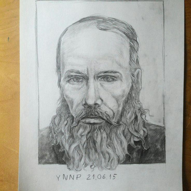 #Достоевкий #Dostoevsky #art #YNNP #Art #Portrait #портрет #painttoolsad
