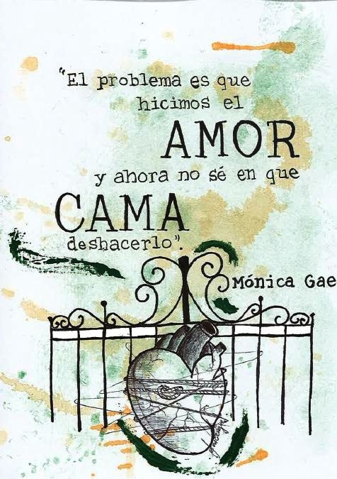 Ilustropoema #13 (Mónica Gae) #Frases #Quotes