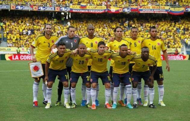 LA SELECCION COLOMBIA