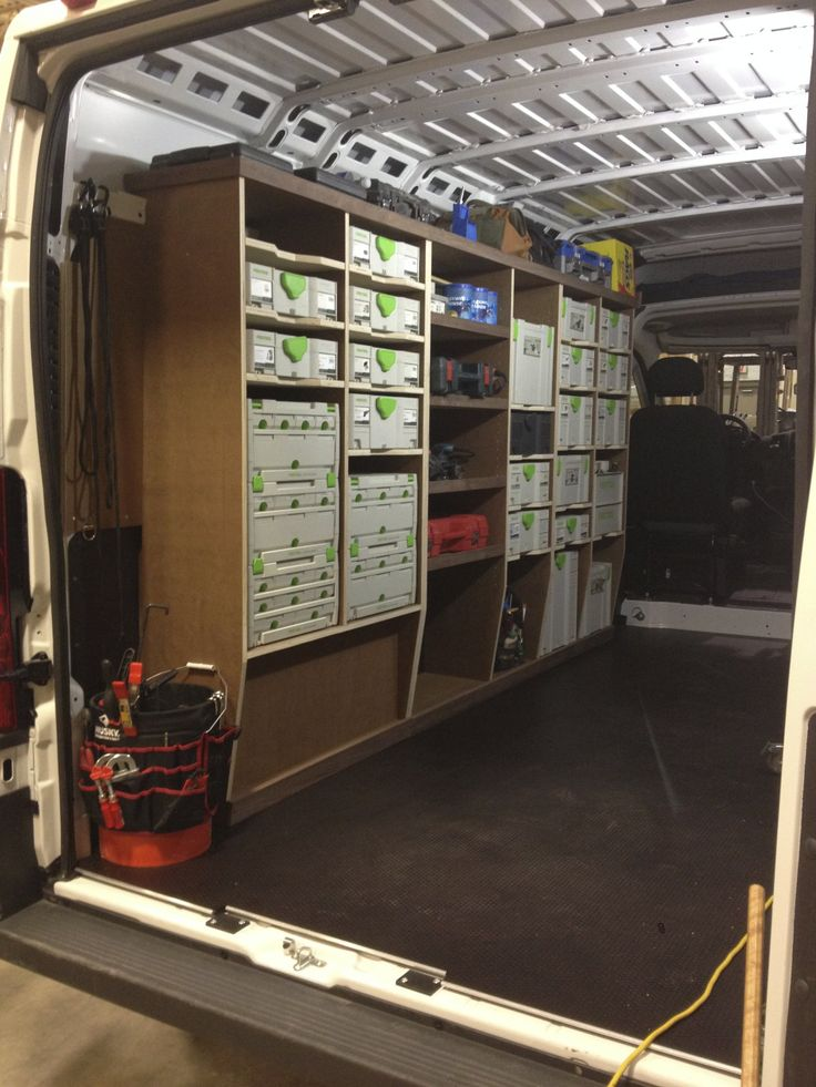 Ram Promaster Van Racking Project Work Trucks Vans Pinterest Projects Van Racking And