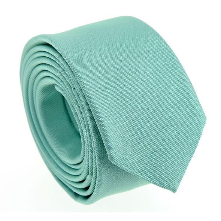Cravate slim corail - Sienne