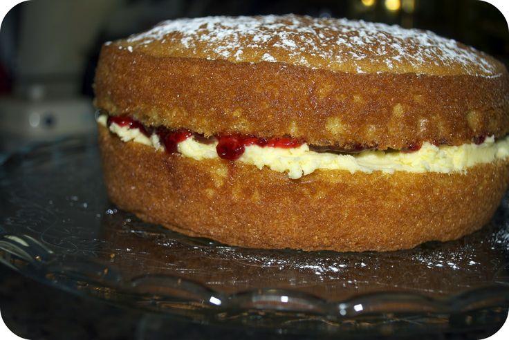 Mary Berry Victoria sponge. The best recipe ever