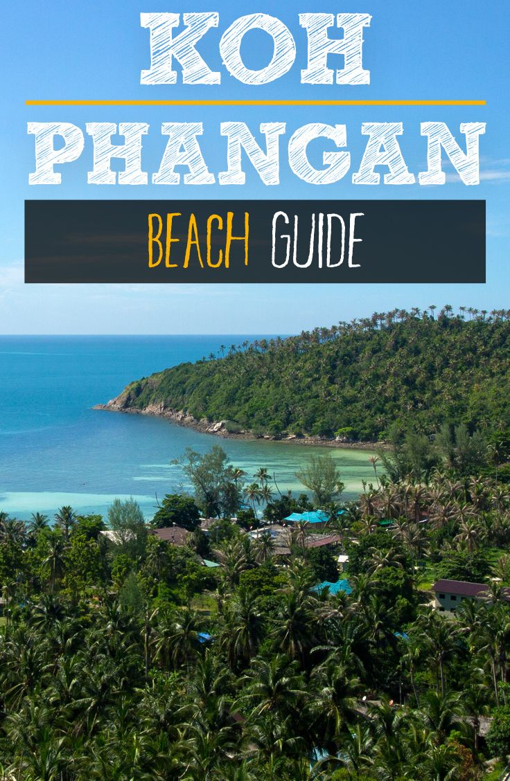 The island of Koh Phangan offers plenty of beaches. It's not easy to find out which are the most beautiful beaches. In this beach guide we introduce you to our favorite 10 beaches.