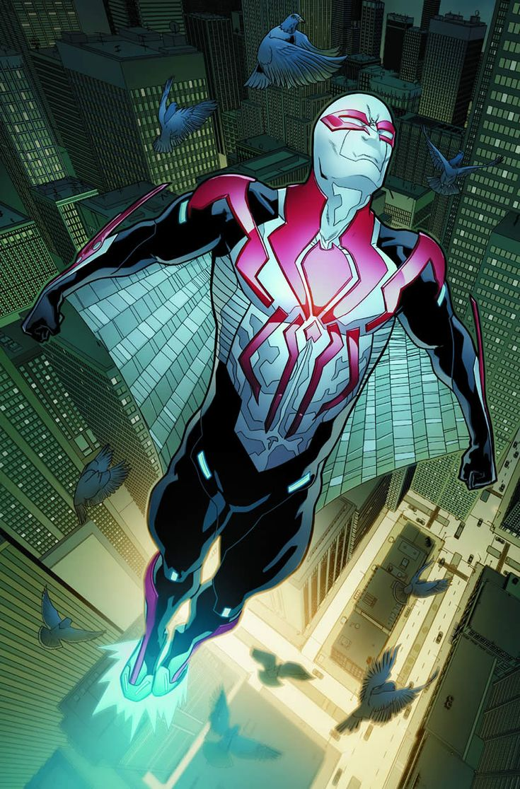Homem-Aranha 2099 - Prévia mostra novo uniforme do herói!