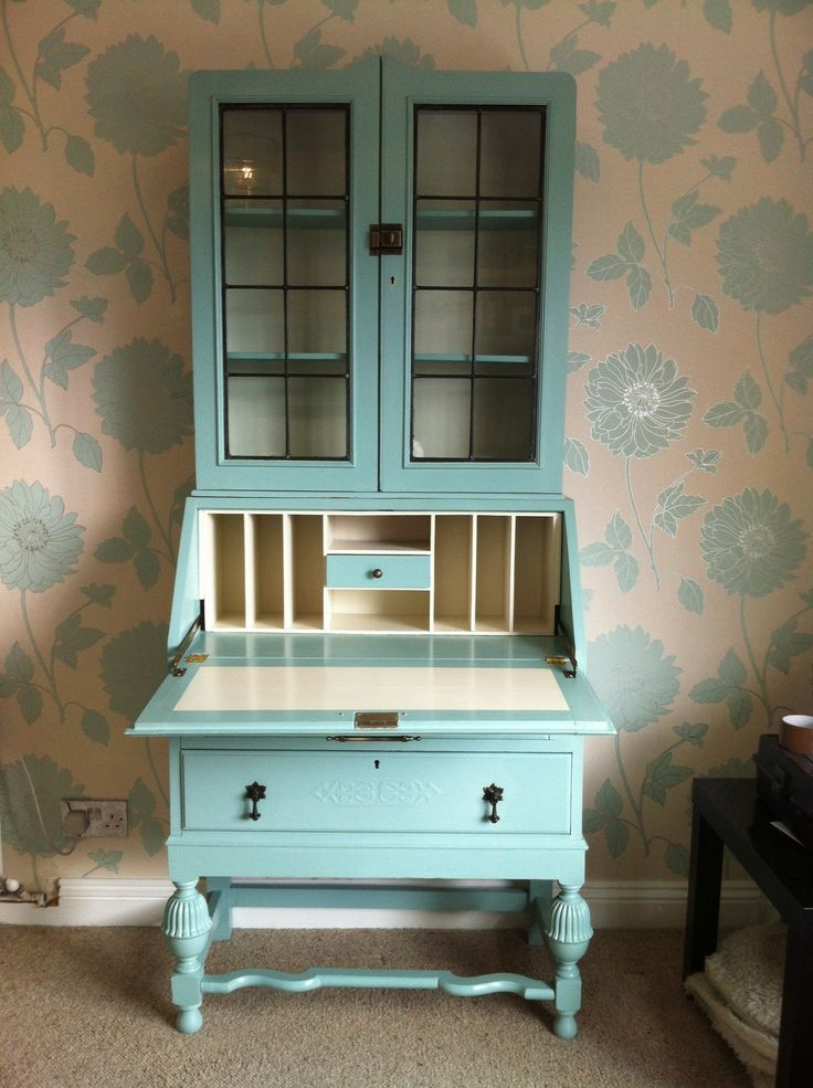 Famous 92 best Painted Secretary Desk images on Pinterest | Painted  WA39