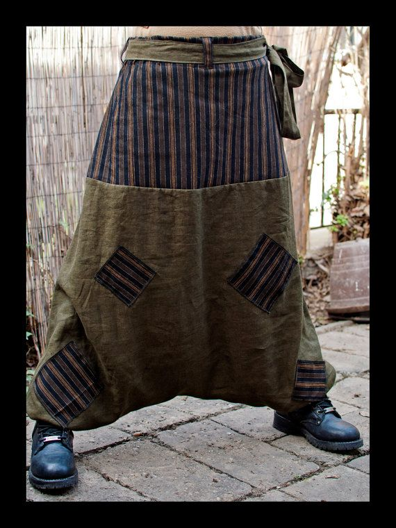 Gypsy Girl  Harem Pants  Sarouel  Afghan Pants  by IsNoGoodWear, $45.00
