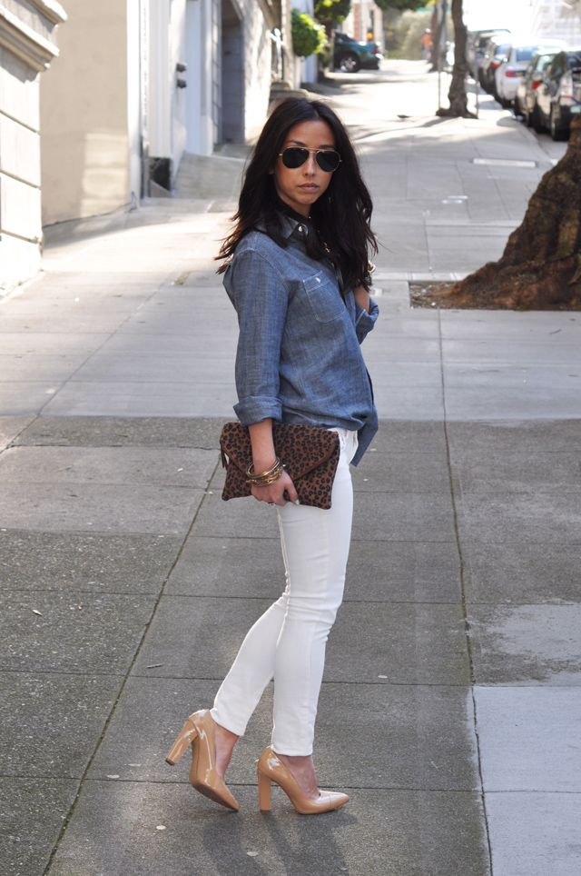 looking good. love the denim shirt!  In the City with Crystalin - Part 2