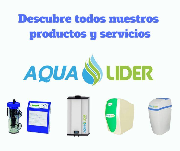 Descubre todos nuestros productos y servicios de filtrado de agua para consumo: descalcificadores, sistemas de ósmosis inversa, cloradores salinos y aerotermias.