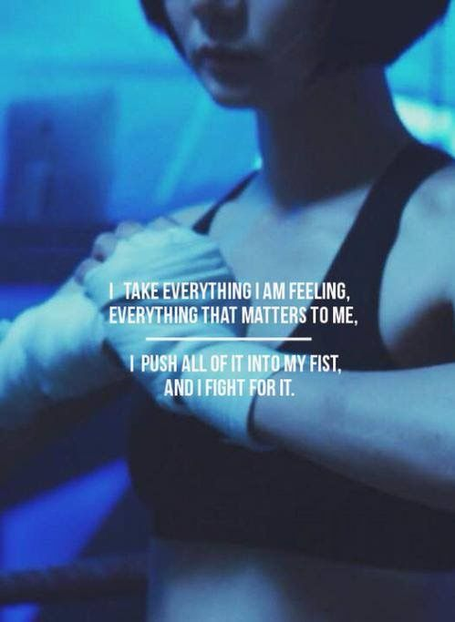 Sun Bak from Sense8. I love each of the eight main characters for different reasons, but Sun has to be one of my ultimate favorites. I just love how composed, sacrificing, strong, and bad ass she is. This character quote does her great justice. She is a fighter, through and through.