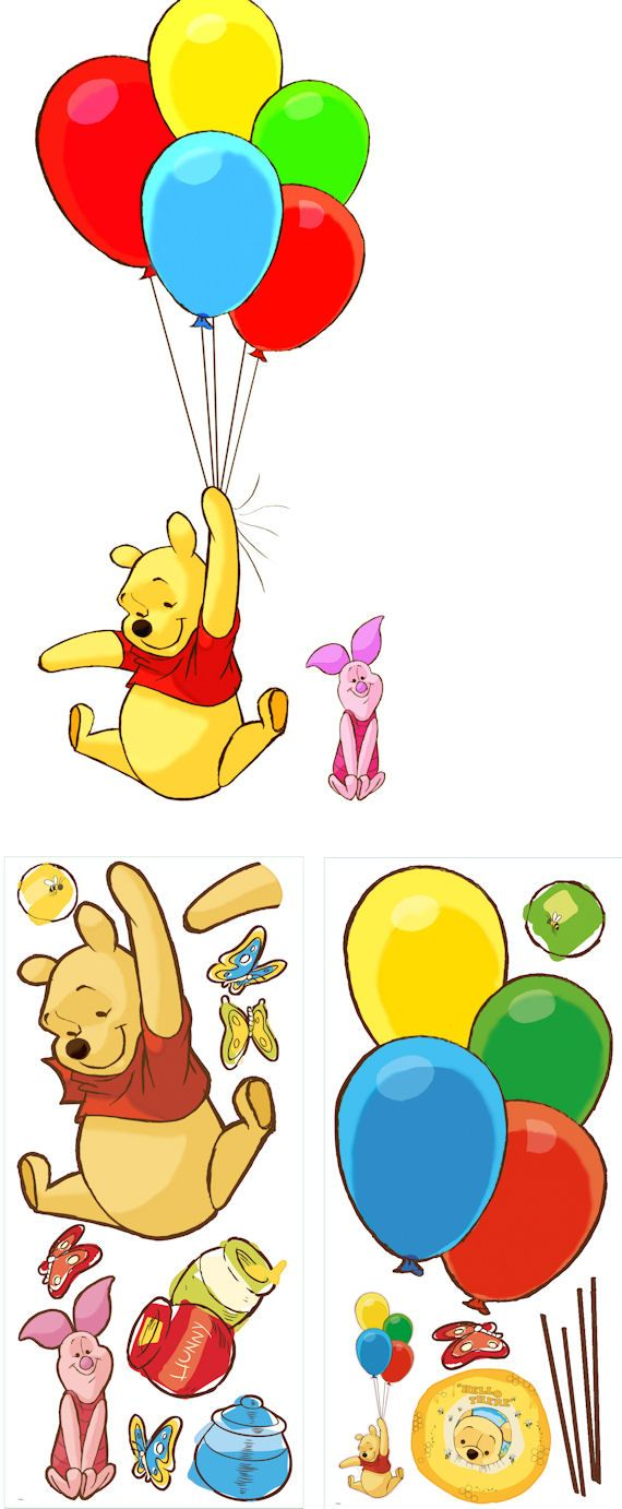 100 best movies and tv wall decals images on pinterest wall pooh and piglet giant peel and stick wall mural wall sticker outlet
