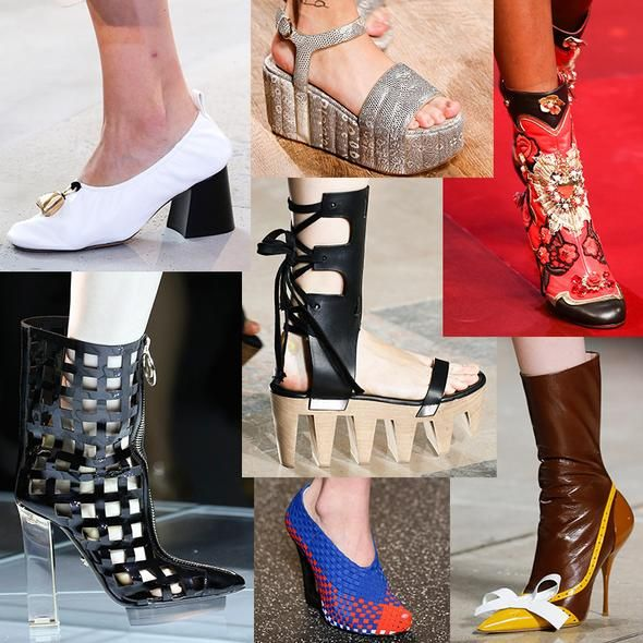 All Sorts Of Statement Shoes Were Recently Featured On The