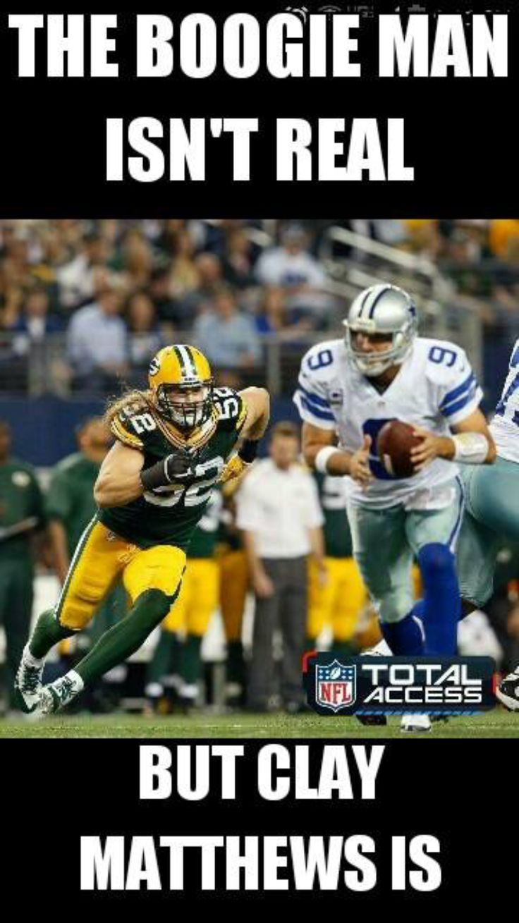 "Incredible Clay Matthews, our Green Bay ""HULK""."