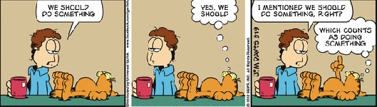 Something I learned from today's Garfield Comic Strip