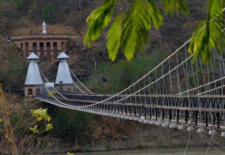 Puente de Oriente, Santa Fe de Antioquia, Antioquia. Colombia