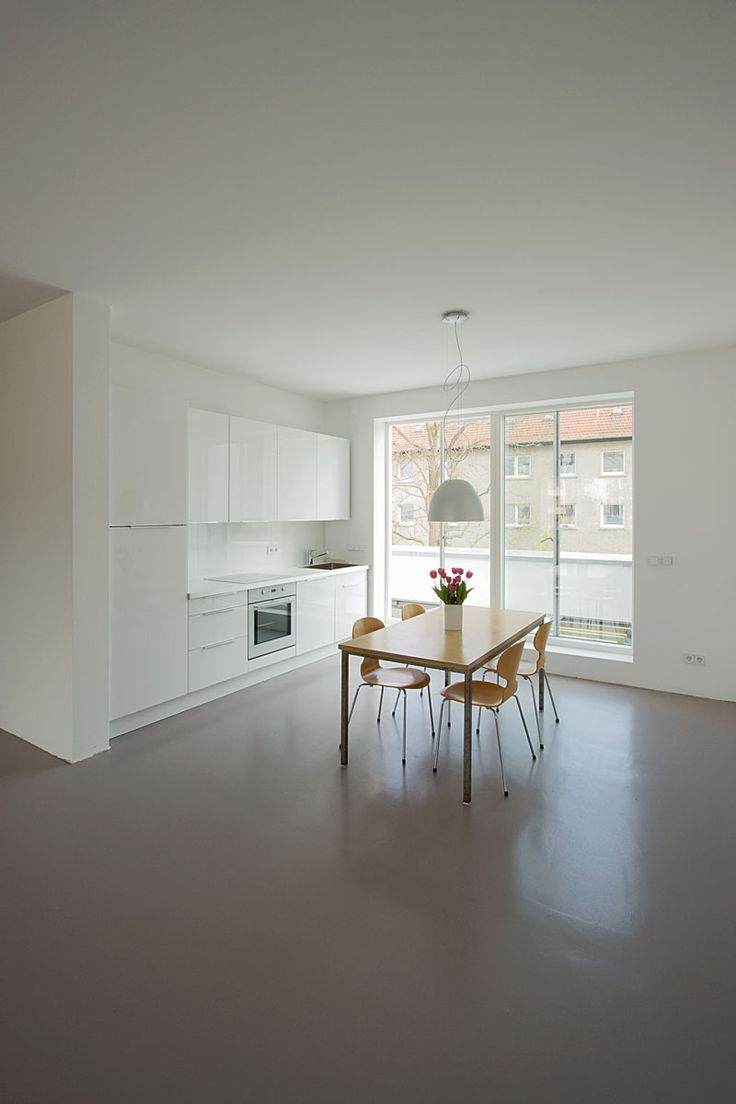 polierter betonboden kosten betonboden wohnbereich. Black Bedroom Furniture Sets. Home Design Ideas
