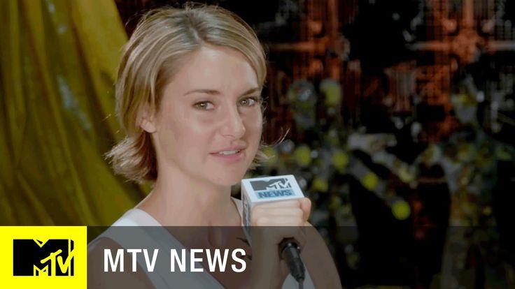 """""""Divergent Series: Allegiant"""" Exclusive First Look w/ Shailene Woodley &..."""
