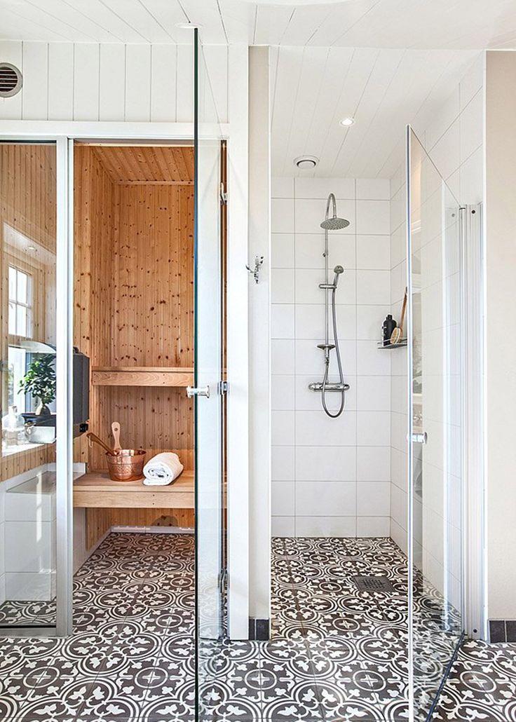 25 best ideas about sauna shower on pinterest scandinavian steam showers scandinavian mosaic. Black Bedroom Furniture Sets. Home Design Ideas