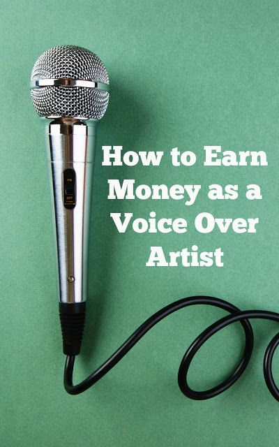 How to Get Started and Earn Money in Voice Over Work | 1099 - Mom