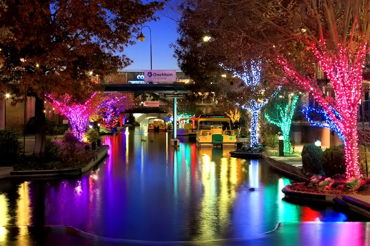 OKC Bricktown Canal Lights | Places I've Been or Want to Go ...