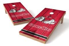 Gardner Webb Running Bulldogs Single Cornhole Board - Vintage