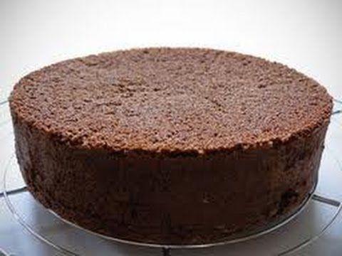 Ricetta Pan di Spagna al cioccolato alto e soffice