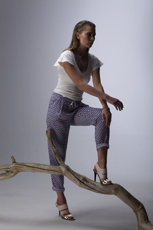 http://ingar.nl/ Smilla top and Lynn pants high quality fabrics and tailored garments from Lana designed by Marion Kracht.