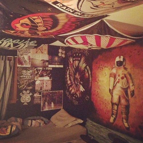 band themed bedroom  My room  Pinterest  Poster beds, The o39;jays and Band