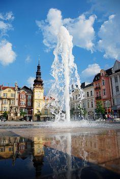 In Ostrava, Czech Republic.