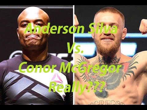 """Anderson Silva """"I will cut weight to fight the notorious Conor McGregor ..."""