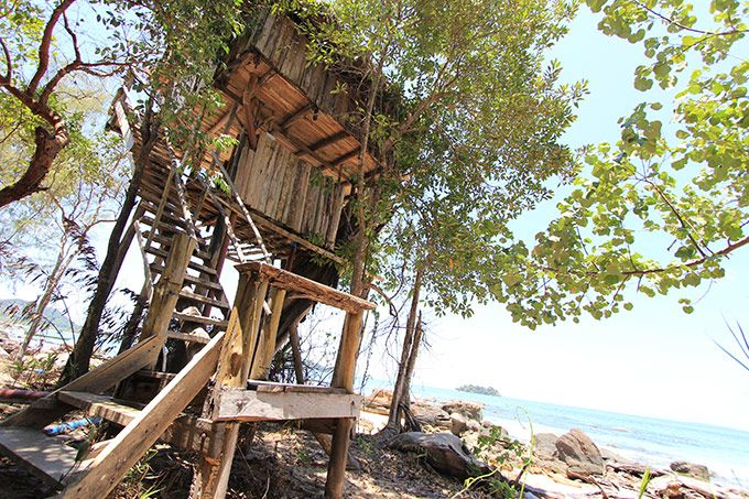 treehouse on koh rong