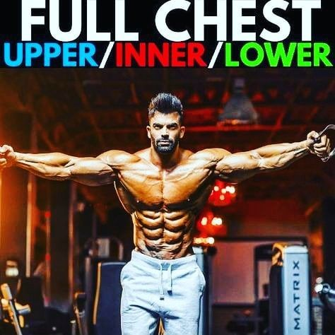 full chest workout information tips ll body abs workout