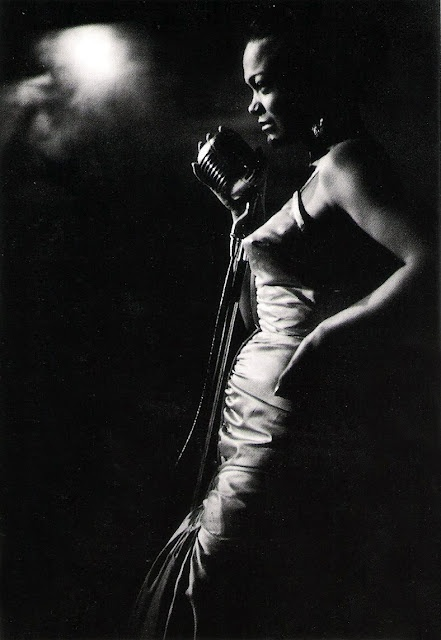 Eartha Kitt by Ernst Haas, New York, 1952 I saw her at The Special Event where she performed less than a year before she died. She was still sexy!