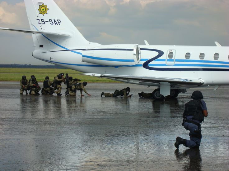 Security Forces demonstrate their readiness to secure airspace during the 2010 FIFA World Cup