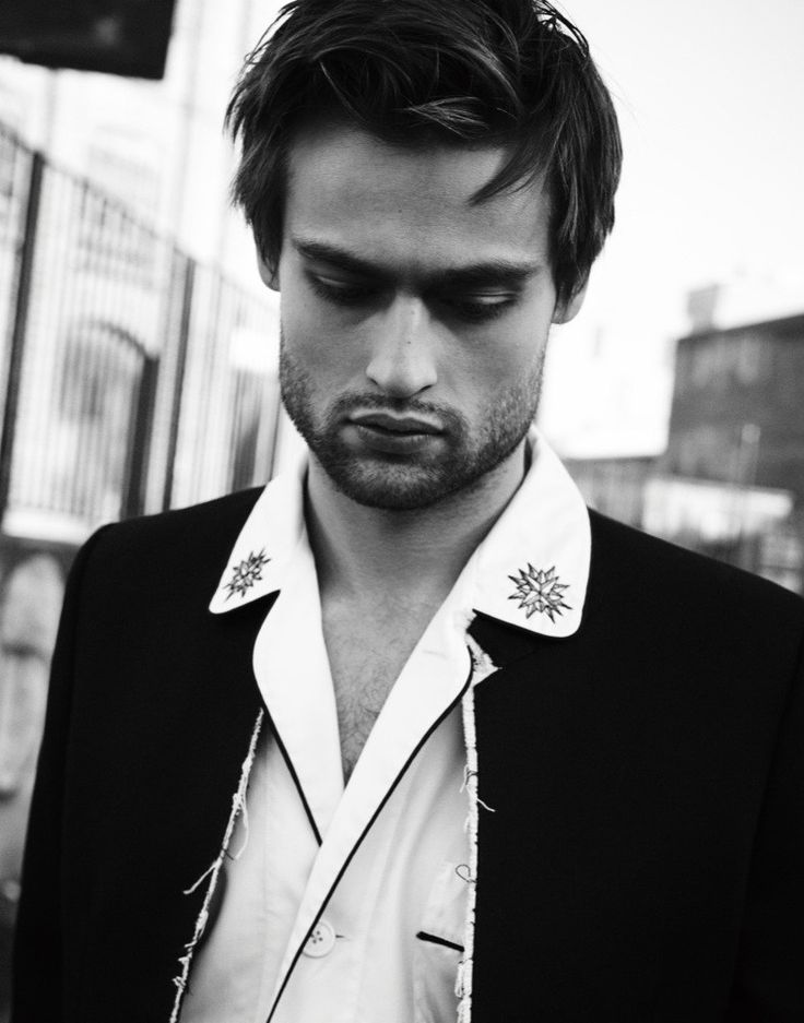 Promoting his latest movie, Pride and Prejudice and Zombies, British actor Douglas Booth connects with Interview magazine for a new shoot. Photographed by