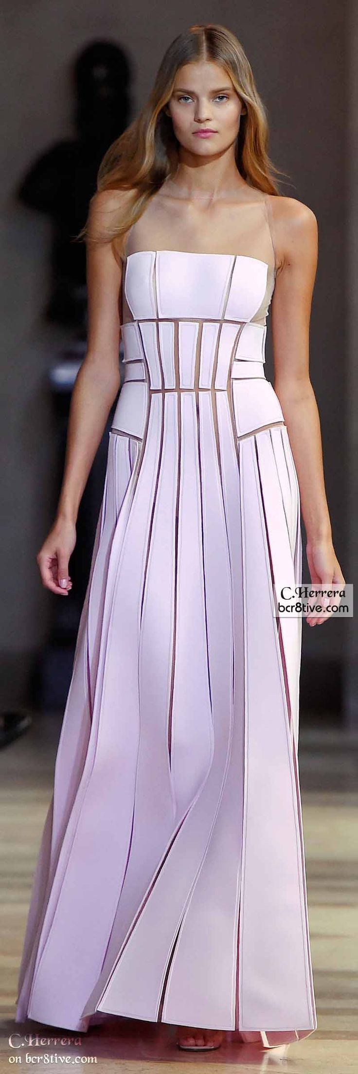 "Carolina Herrera Spring 2016 ""And the LORD said to Moses, ""Go to the people and consecrate them today and tomorrow. Have them wash their clothes."" Exodus 19:10"