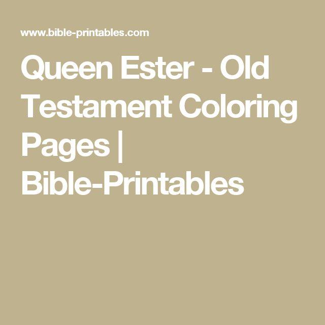 129 besten irc ester Bilder auf Pinterest | Bibelaktivitäten ...