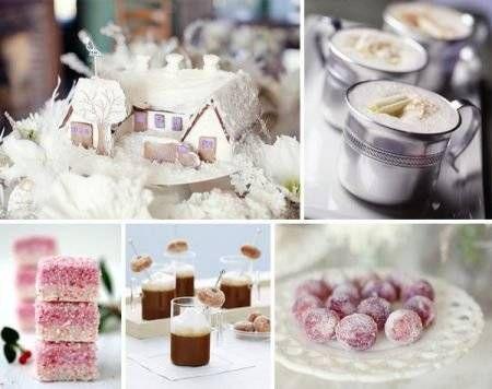 winter wedding food | My Winter Wedding Inspiration | Pinterest ...