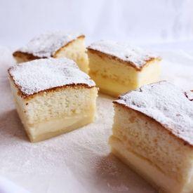 Magic cake - one batter = three layers cake (in Romanian with translator)