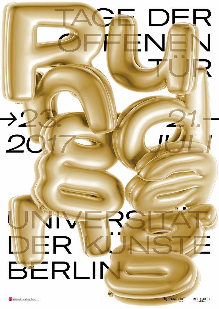 Rundgang 2017 University of the Arts Berlin on Behance