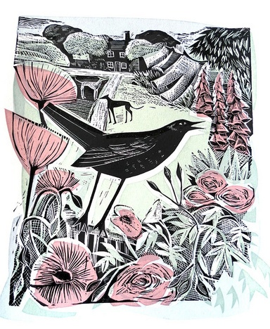 august blackbird, angela harding